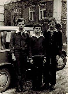 Друзья с детства: Тима Селюков, Вова Кари, Витя Левашов